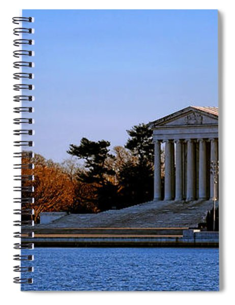Jefferson Memorial Sunset Spiral Notebook