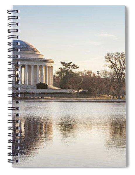 Jefferson Morning Spiral Notebook