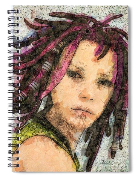 Jehanne Spiral Notebook