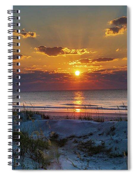 Jekyll Island Sunrise Spiral Notebook