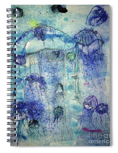 Jellyfish I Spiral Notebook
