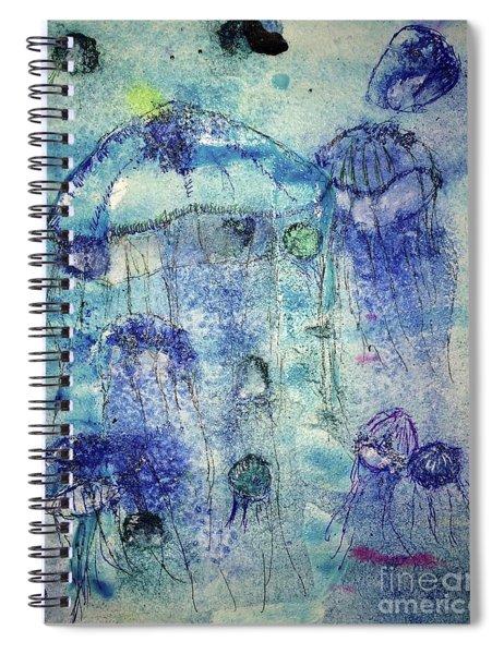 Jellyfish I Spiral Notebook