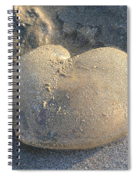 Jellyfish With A Big Heart Spiral Notebook