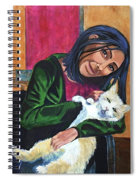 Jenny And Rogan Spiral Notebook