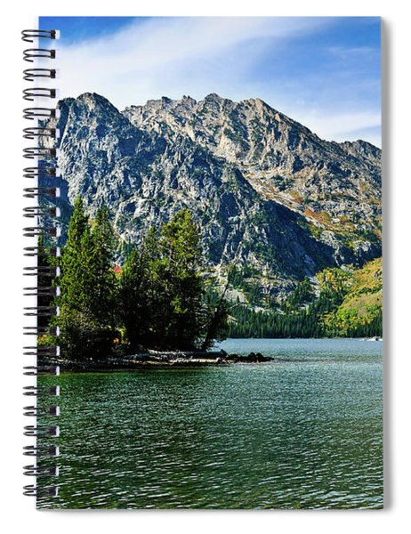 Jenny Lake Borderless Spiral Notebook