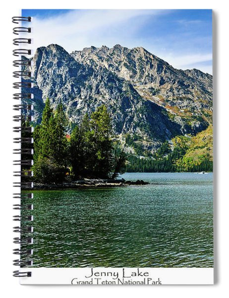 Jenny Lake Spiral Notebook