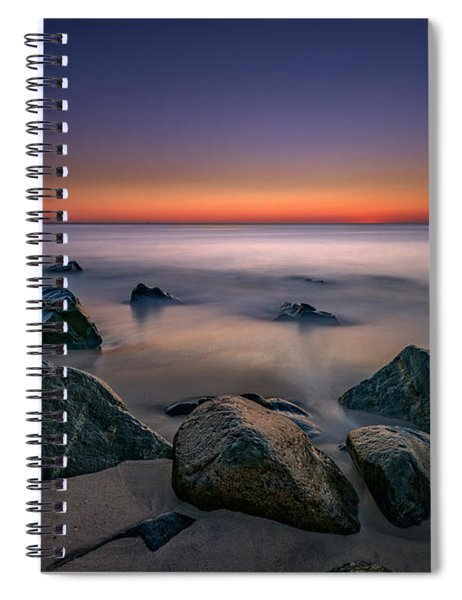 Jersey Shore Tranquility Spiral Notebook