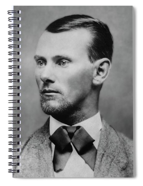 Jesse James -- American Outlaw Spiral Notebook