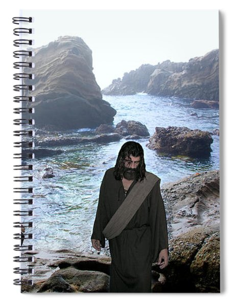 Jesus Christ- Be Not Dismayed For I Am Your God Spiral Notebook