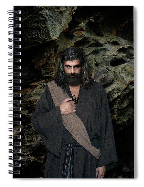 Jesus Christ- Be Still And Know That I Am God Spiral Notebook