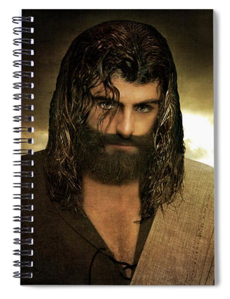Jesus Christ- Will You Hear Me Shout Come Up Spiral Notebook