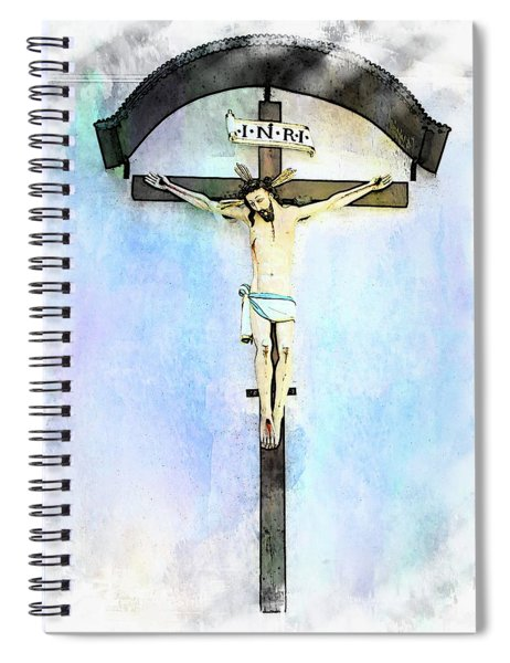Jesus Christ - Zell Am See, Austria Spiral Notebook