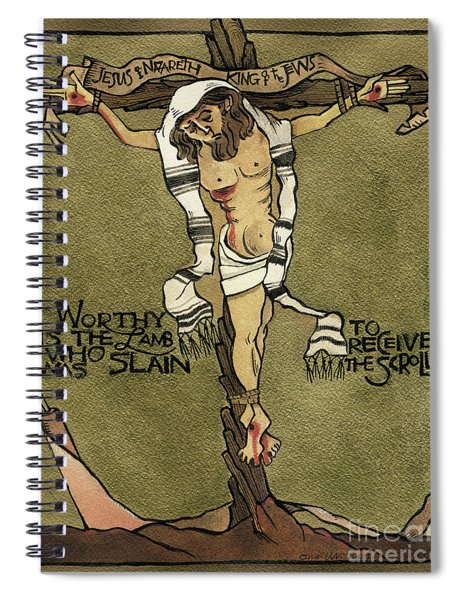 Jesus, King Of The Jews - Mmjkj Spiral Notebook