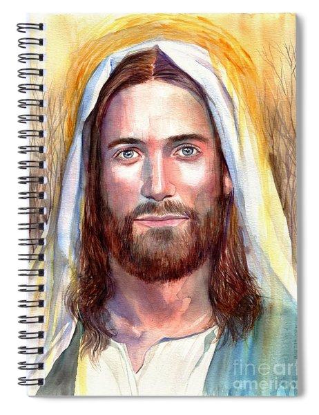 Jesus Of Nazareth Painting Spiral Notebook