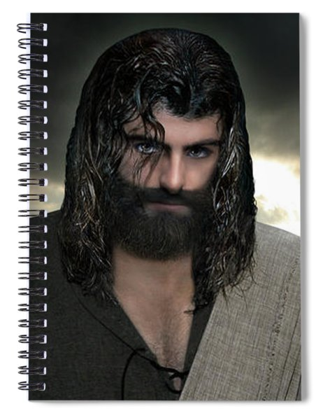 Jesus- Will You Hear Me Shout Come Up Spiral Notebook
