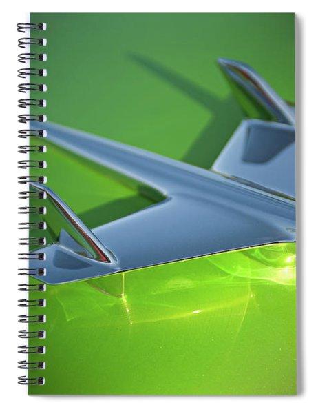 Jet Age Chevy Spiral Notebook