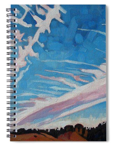 Jet Stream Spiral Notebook