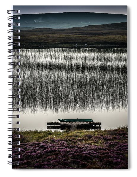 Jetty, Loch Na Maracha, Isle Of Harris Spiral Notebook