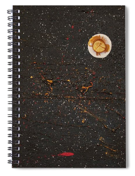 Spiral Notebook featuring the painting Jewel Of The Night by Michael Lucarelli