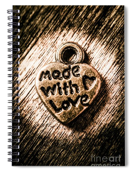 Jewellery Made With Love Spiral Notebook