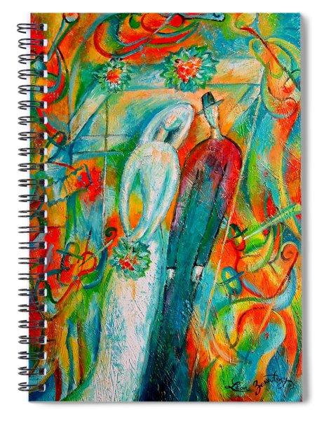 Jewish Wedding Spiral Notebook