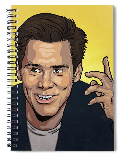 Jim Carrey Spiral Notebook