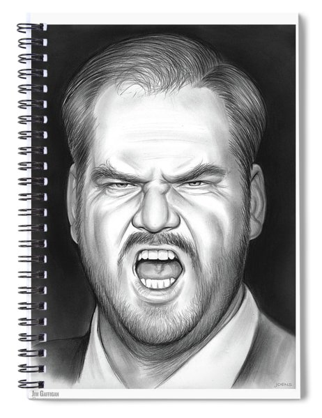 Jim Gaffigan Spiral Notebook