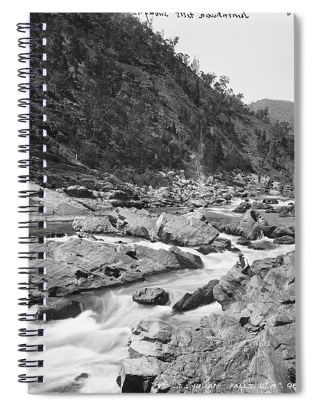 Jimenbuan Falls, Snowy River, Kerry And Co, Sydney, Australia, C. 1884-1917 Spiral Notebook
