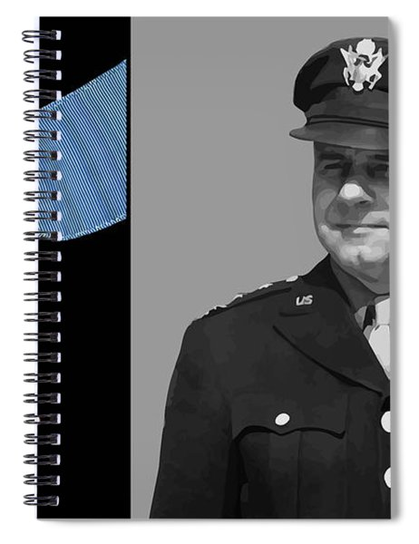 Jimmy Doolittle And The Medal Of Honor Spiral Notebook