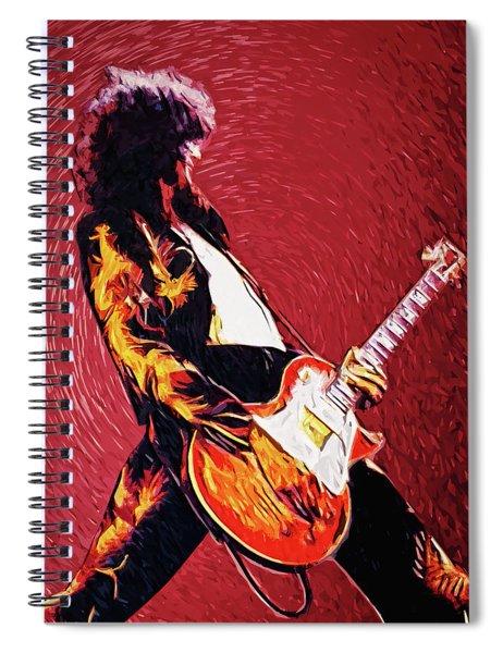 Jimmy Page  Spiral Notebook