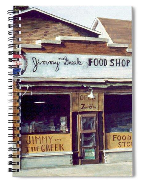 Jimmy The Greek Spiral Notebook