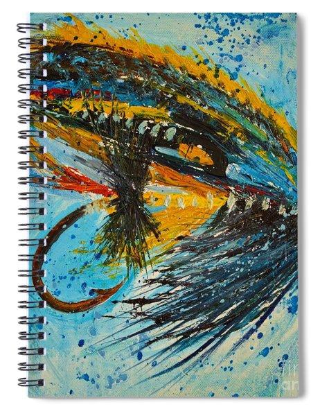 Jock Scott Fly Spiral Notebook
