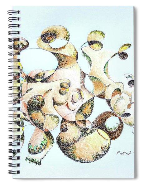 Joe Boulder Spiral Notebook