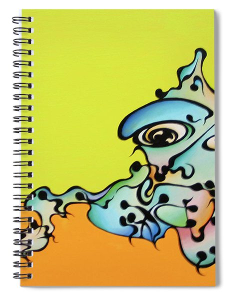 Joe Cat Spiral Notebook