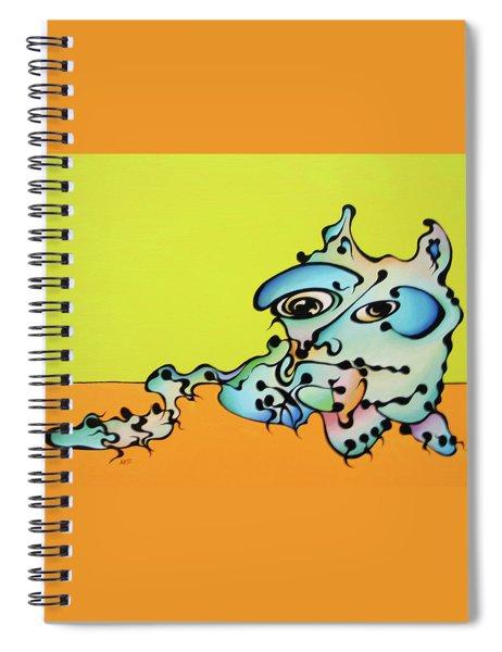 Joe Cat Spiral Notebook