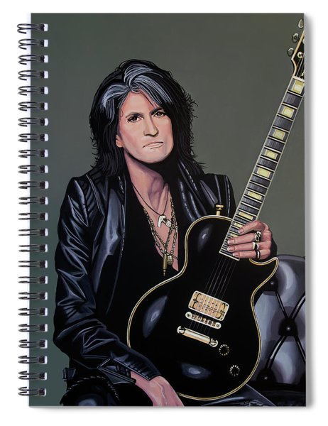 Joe Perry Of Aerosmith Painting Spiral Notebook
