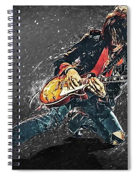 Joe Perry Spiral Notebook