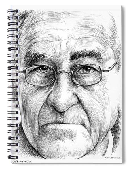 Joe Schlesinger Spiral Notebook