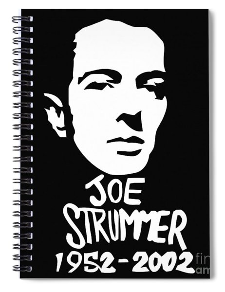 Joe Strummer Spiral Notebook