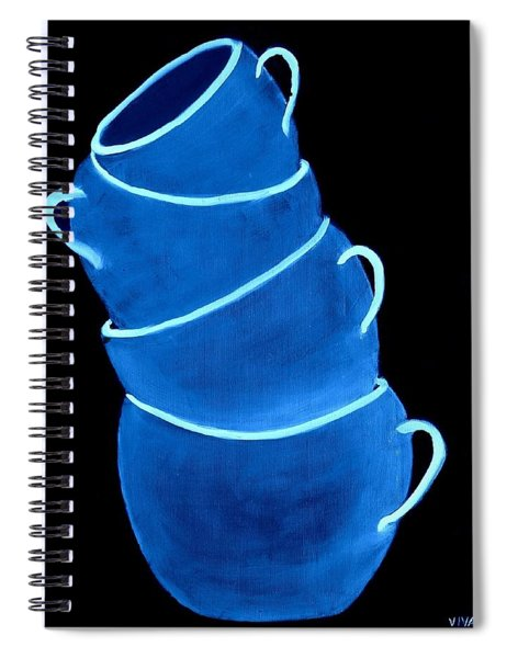 Joe's Lefthanded Cup Spiral Notebook