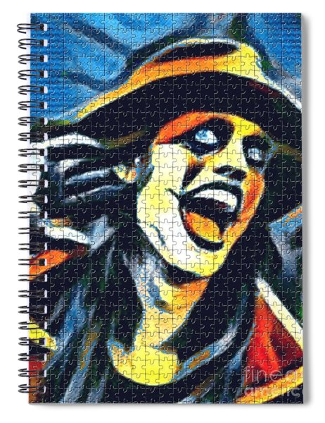 Johannes Spiral Notebook