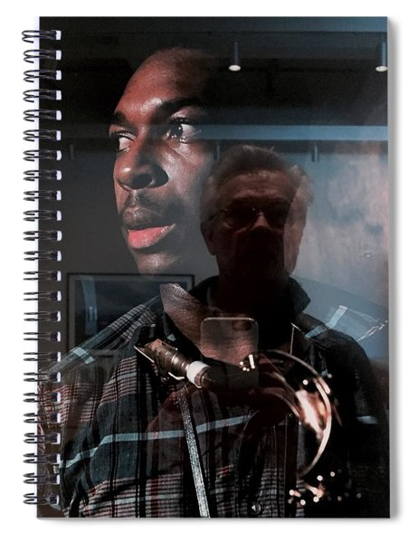 John Coltrane And Me Spiral Notebook