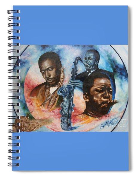 Blaa Kattproduksjoner     John Coltrane - Jazzed  Spiral Notebook