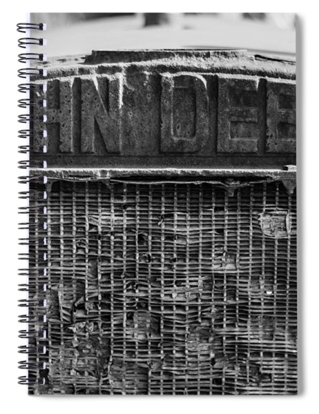 John Deere In Monochrome Spiral Notebook
