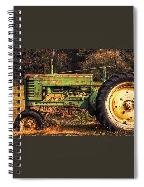 John Deere Retired Spiral Notebook