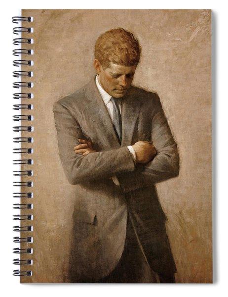John F Kennedy Spiral Notebook