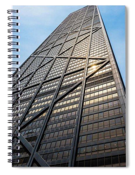 John Hancock Center Chicago Spiral Notebook