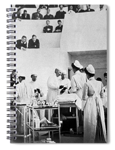 John Hopkins Operating Theater, 19031904 Spiral Notebook