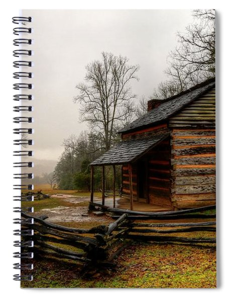 John Oliver's Cabin In Cades Cove Spiral Notebook