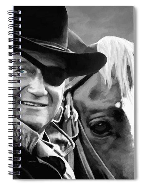 John Wayne @ True Grit #1 Spiral Notebook